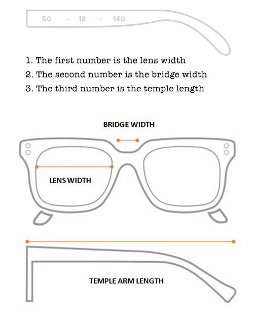 Frame Measurements - 39 Dollar Glasses