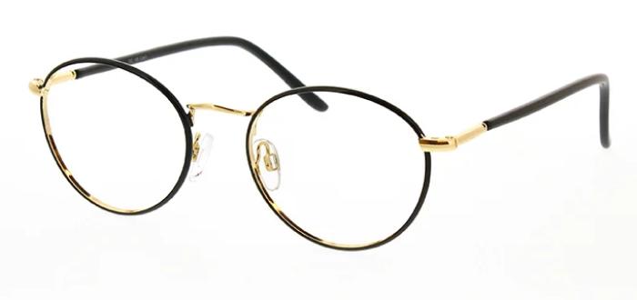 eyeglasses of metal frame