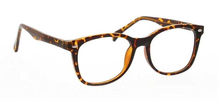 eyeglasses of plastic frame