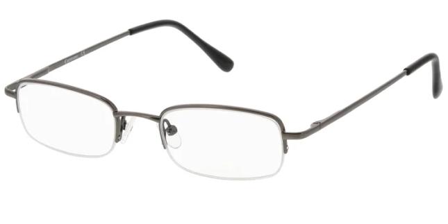 eyeglasses of rimless frame