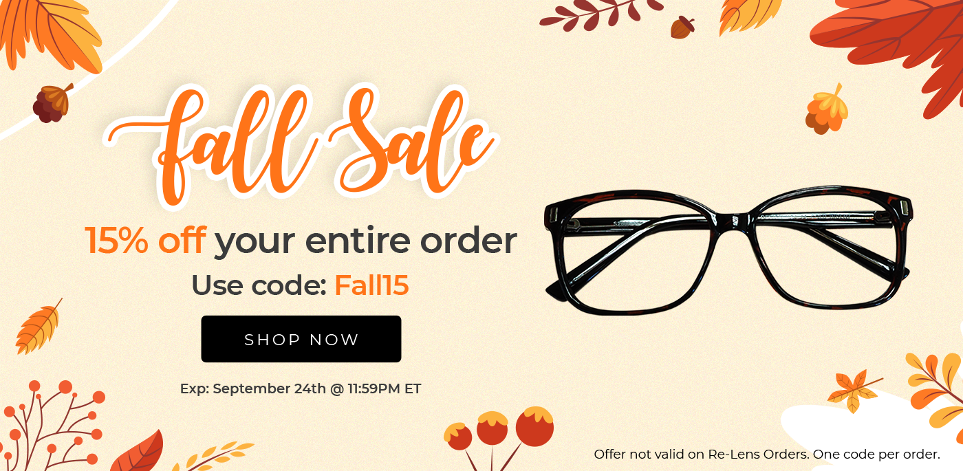 Get 15% off your entire order. Ends Sep 24 @ 11:59PM ET.